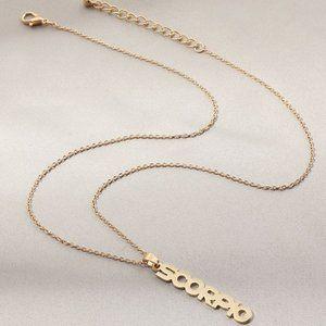 3$20 New Gold Scorpio Zodiac Necklace